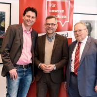 Wahlkampfauftakt der SPD LK Hof mit Michael Roth und Klaus Adelt