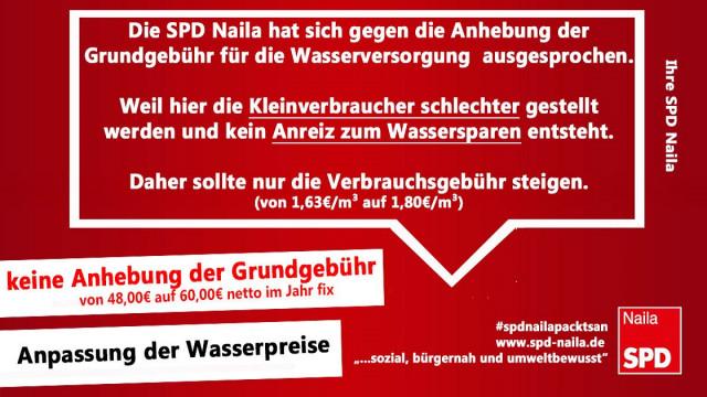Die SPD-Naila, immer für die Interessen der breiten Mehrheit und nicht der Wenigen