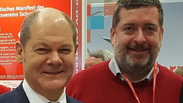 Jörg Nürnberger und Olaf Scholz