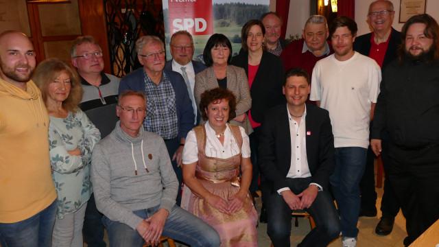 Nominierungsversammlung der SPD-Naila für die Stadtratswahl 15.03.2020
