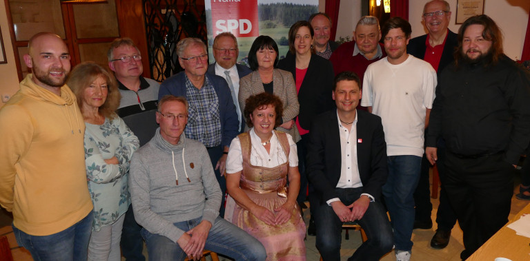 Foto Nominierung der SPD Stadtratkandidaten in Naila